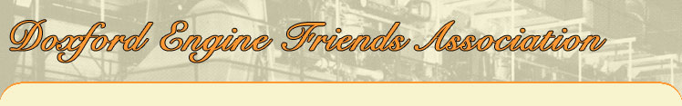 Doxford Engine Friends Association header image.